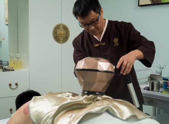 Moxibustion Therapy Dubai
